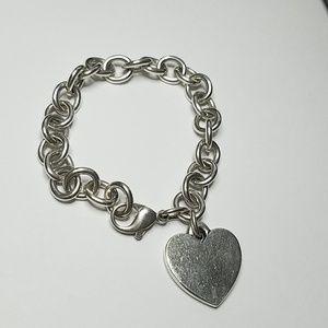 James Avery Classic Charm Bracelet w/ Heart